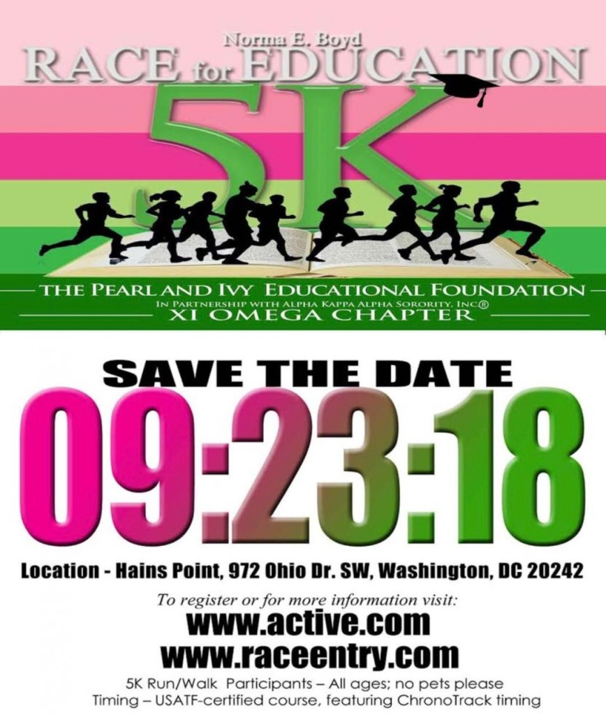 2018 5K Race for Education