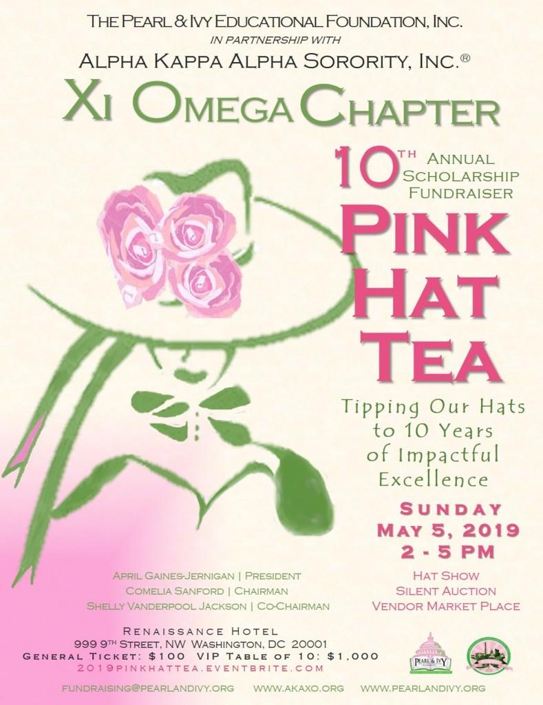 10th Annual Pink Hat Tea